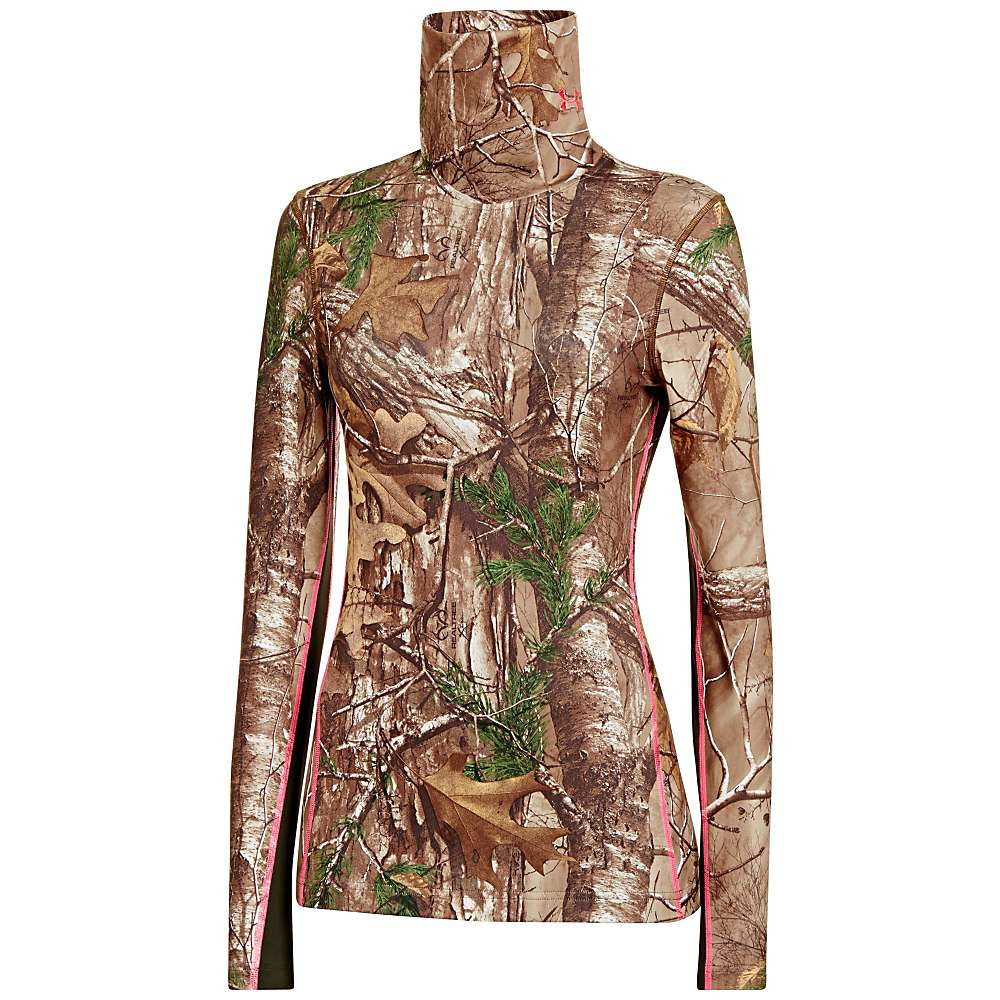 Under Armour Women's UA Coldgear Infrared Scent Control Evo Cozy Neck  - Medium - Realtree AP-Xtra / Perfection
