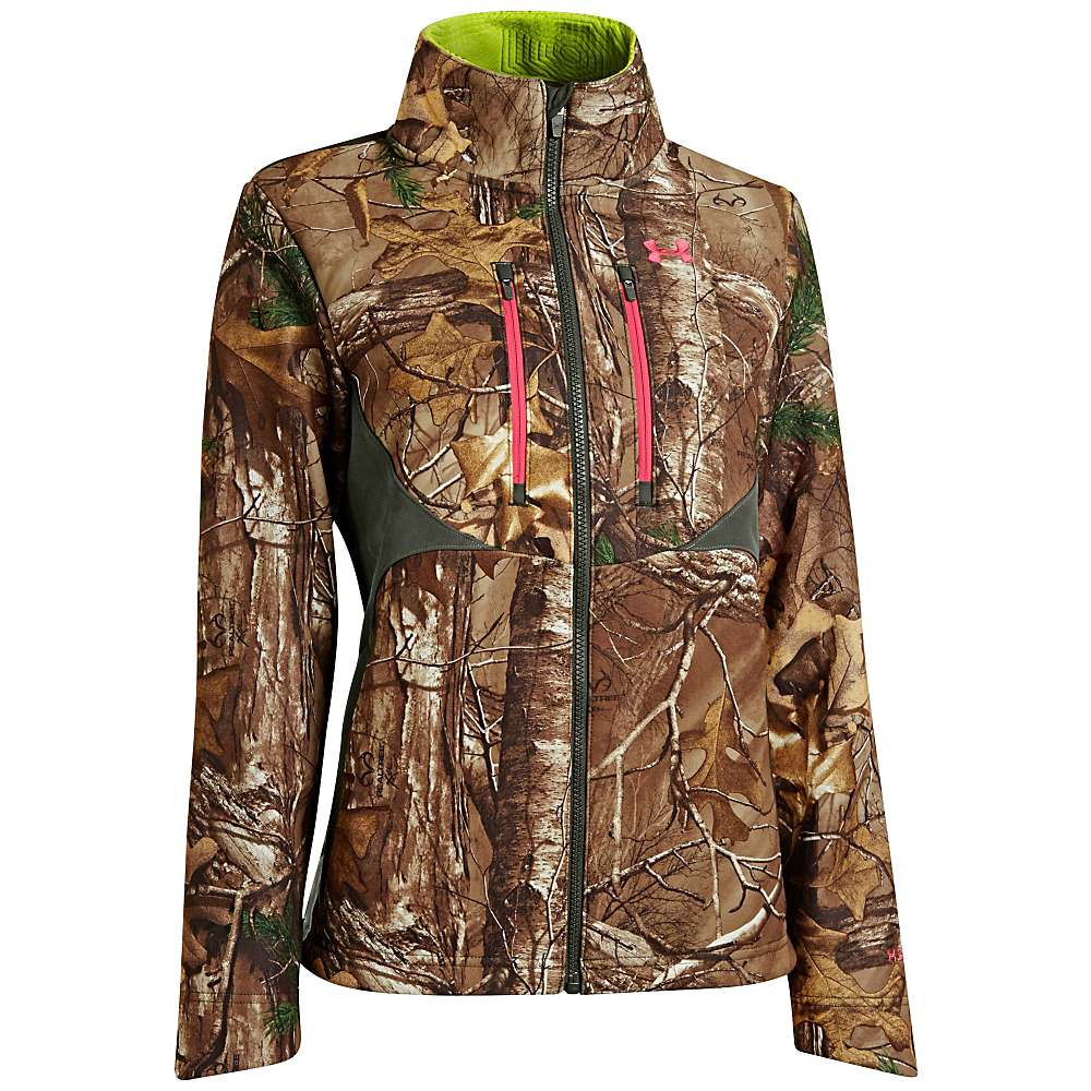 Under Armour Women's UA Coldgear Infrared Scent Control Speed Freek - Small - Realtree AP-Xtra / Perfection