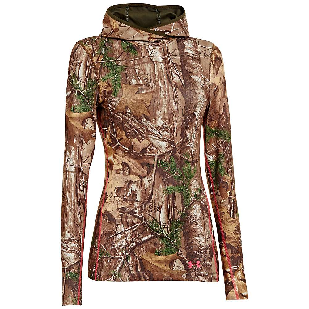 Under Armour Women's UA Coldgear Infrared Scent Control Evo Hoody - Medium - Realtree AP-Xtra / Perfection