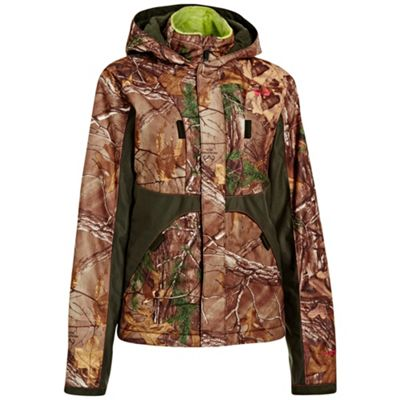Under Armour Women's UA Coldgear Infrared Scent Control Gunpowder Jacket
