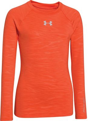 Under Armour Girls' Evo Coldgear Fitted Crew