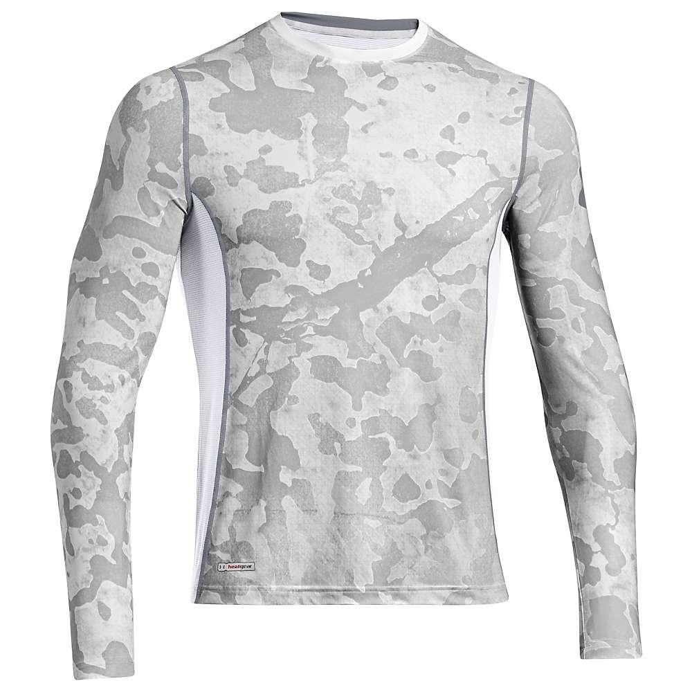 Under armour men 39 s heatgear sonic fitted printed long for Under armour men s heatgear sonic fitted t shirt
