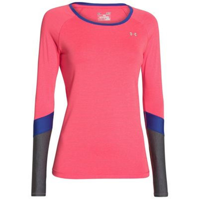 Under Armour Women's Heatgear Alpha Novelty Long Sleeve Top