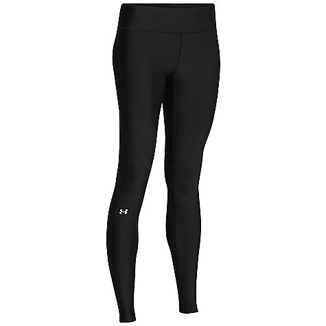 Under Armour Women's Heatgear Alpha Compression Legging Black / Metallic Silver