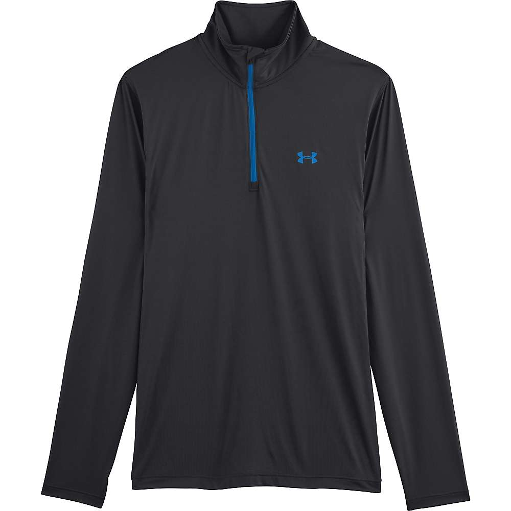 Under Armour Men's UA ISO Chill 1/4 Zip - Small - Black / St. Tropez