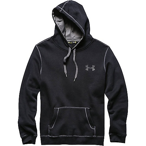 Under Armour Men's UA Rival Cotton Hoodie Black / Graphite / Graphite
