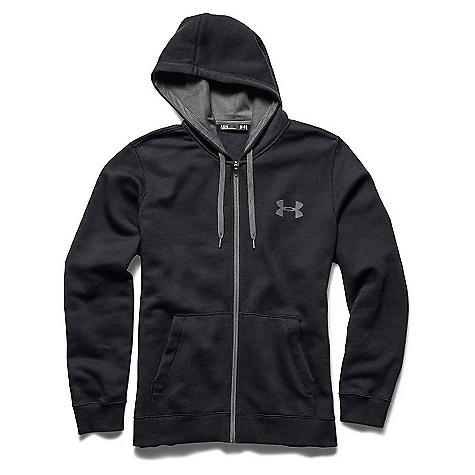 Under Armour Men's UA Rival Cotton Full Zip Hoodie 3628058