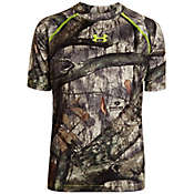 Under Armour Boys' Scent Control EVO HG Short Sleeve Top