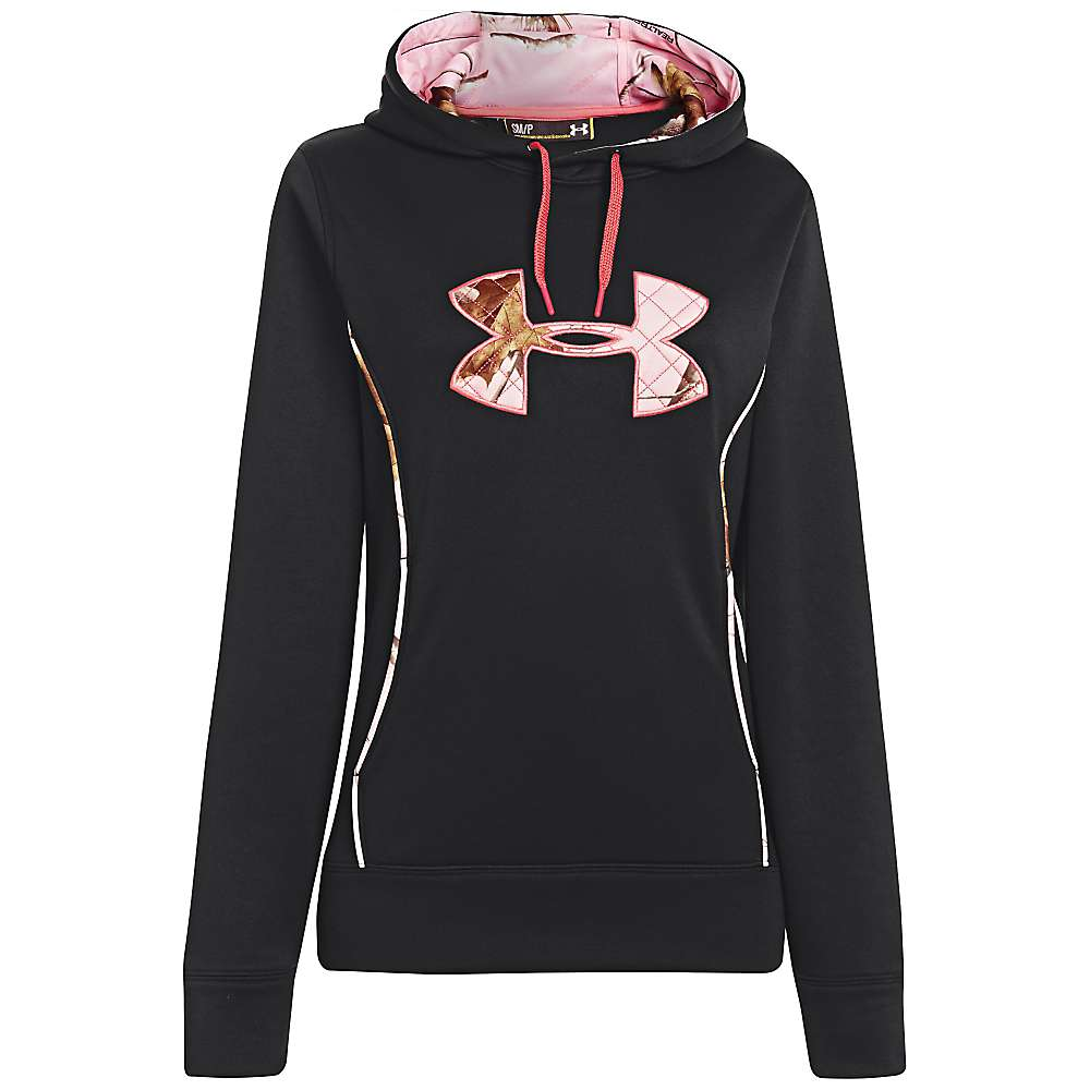 Under Armour Women's UA Storm Caliber Hoody - Medium - Black / Realtree AP Pink / Perfection