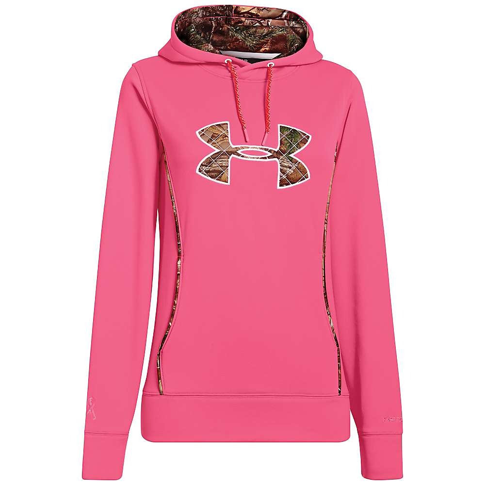 Under Armour Women's UA Storm Caliber Hoody - Small - Cense / Realtree AP-Xtra / White