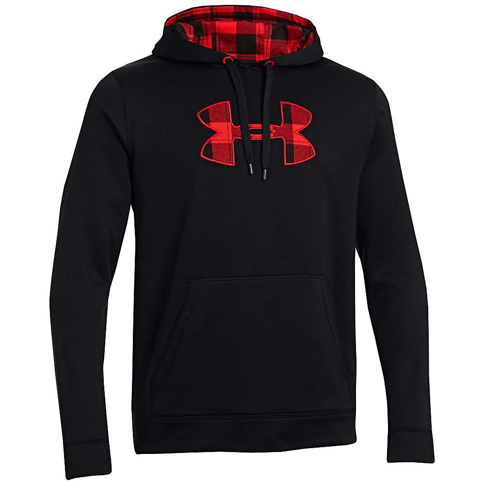 Under Armour Men's UA Storm Caliber Hoody - Small - Black / Battleship