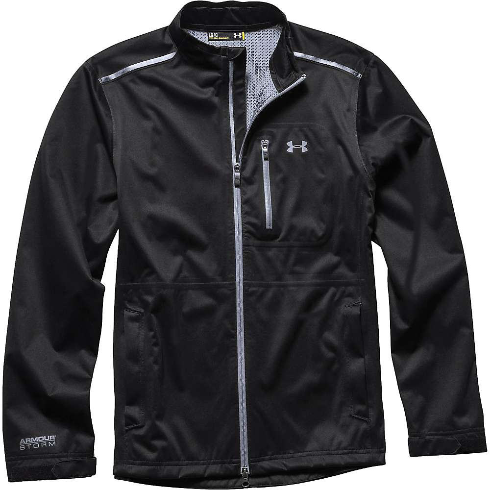 Under Armour Men's Armourstorm Jacket - Small - Black / Steel / Steel
