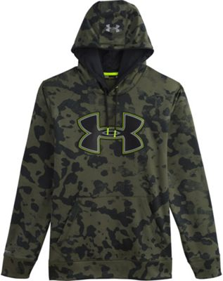 Under Armour Men's Fleece Storm Printed Big Logo Hoody