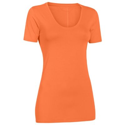 Under Armour Women's UA Long & Lean V-Neck SS Top