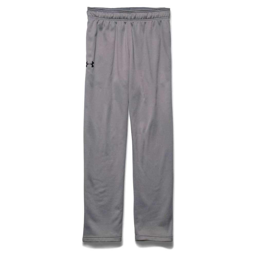 Under Armour Men's Lightweight Armour Fleece Pant - XL - True Gray Heather / Black / Black