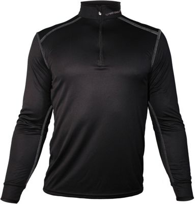 Hot Chillys Men's Micro Elite Chamois 8K Solid Zip-T