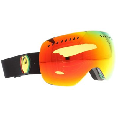 Dragon APXS Goggles Rasta/Red Ionized + Yellow Blue Ionized Lens - Men's