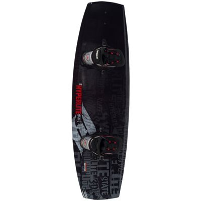 Hyperlite State Wakeboard 140 w/ Spin Boots - Men's