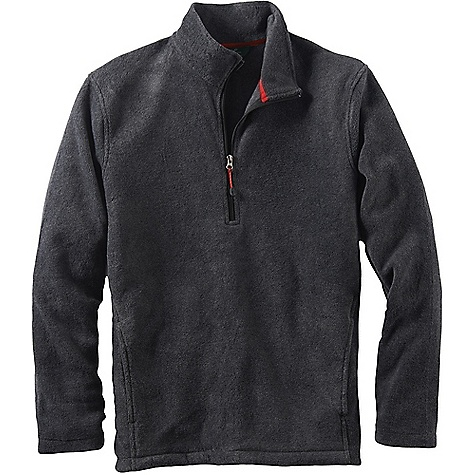 Woolrich Men's Andes Fleece Half Zip Jacket Charcoal Heather