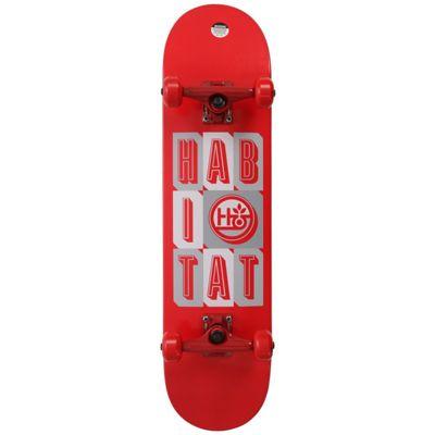 Habitat Headline Stacked SM Skateboard Complete 7.75in