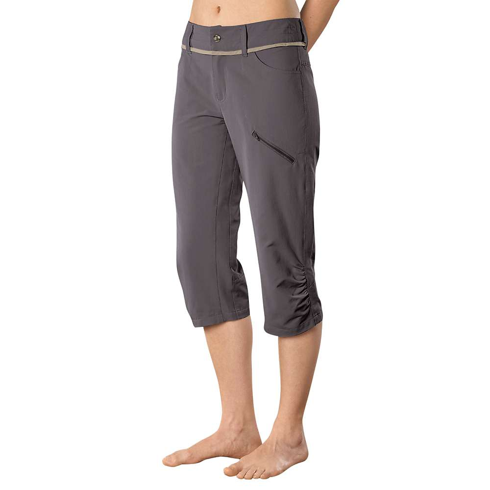 Stonewear Designs Women's Nomad Capri - 4 - Granite