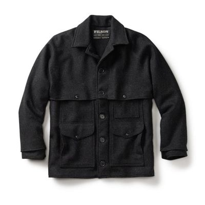 Filson Men's Alaska Fit Wool Double Mackinaw Cruiser Jacket