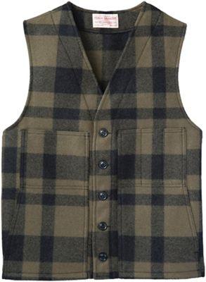 Filson Men's Alaska Fit Wool Mackinaw Vest