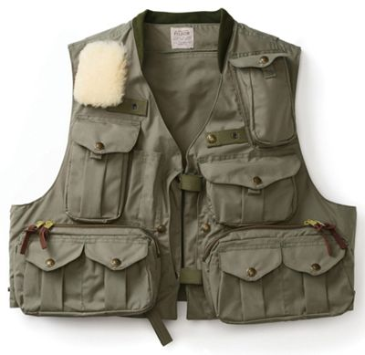 Filson Men's Cover Cloth Fly Fishing Guide Vest