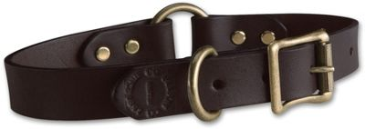 Filson Leather Dog Collar
