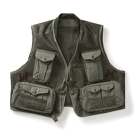 Filson Men's Mesh Fly Fishing Vest
