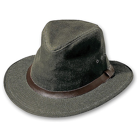 photo: Filson Shelter Cloth Packer Hat sun hat