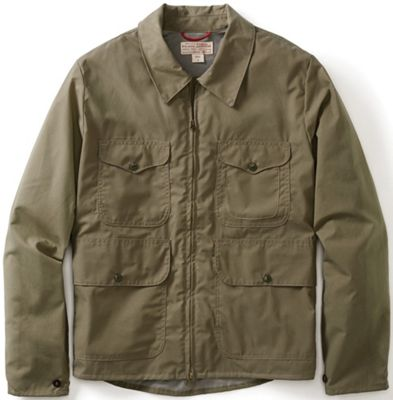Filson Men's Staywax Cover Cloth Bell Bomber Jacket