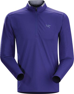 Arcteryx Men's Iridine Zip Neck LS