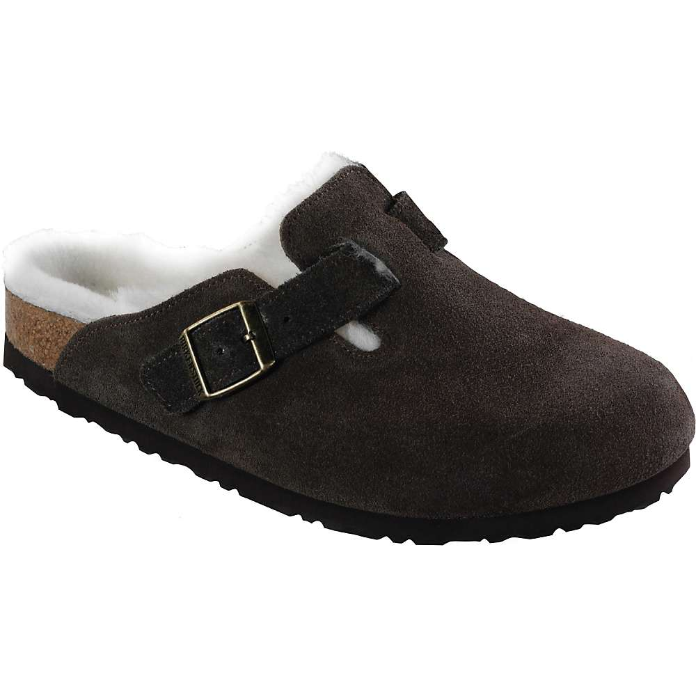 birkenstock women 39 s boston shearling lined clog at. Black Bedroom Furniture Sets. Home Design Ideas