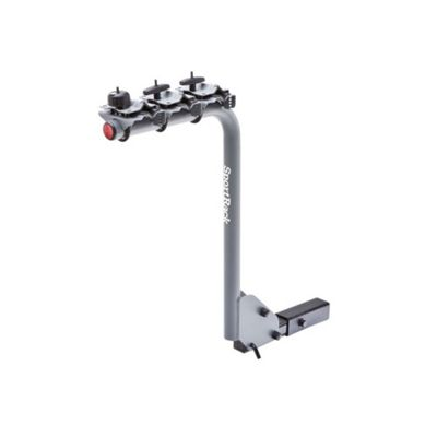 SportRack 3 Bike Lock & Tilt Hanging Hitch Rack