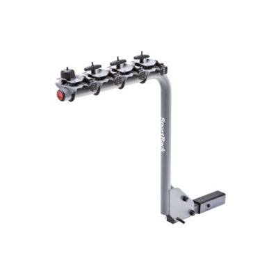 SportRack 4 Bike Lock & Tilt Hanging Hitch Rack