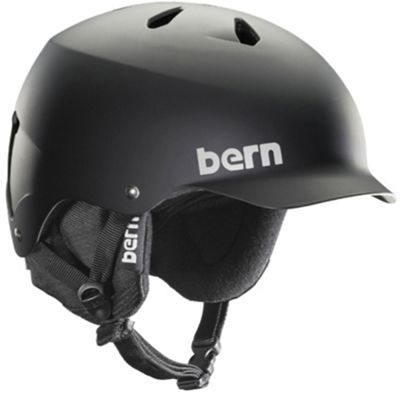 Bern Watts Thinshell w/ 8Tracks Audio Snow Helmet - Men's