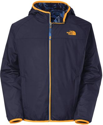 The North Face Boys' Cahow Reversible Print Lined Wind Jacket