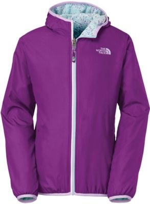 The North Face Girls' Linnet Reversible Print Wind Jacket