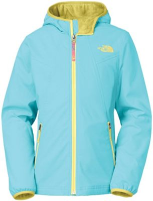 The North Face Girls' Mossbud Softshell Hoodie