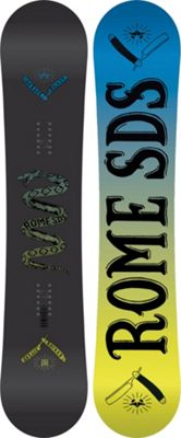 Rome Garage Rocker Midwide Snowboard 151 - Men's
