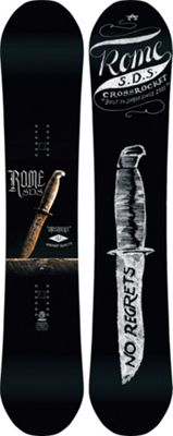 Rome Crossrocket Snowboard 152 - Men's