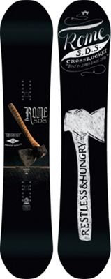 Rome Crossrocket Snowboard 154 - Men's