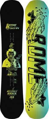 Rome Artifact Rocker Midwide Snowboard 155 - Men's
