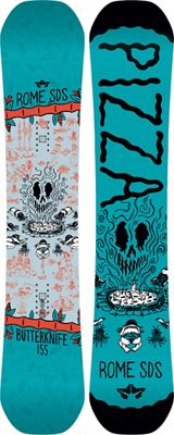 Rome Butter Knife Snowboard 155 - Men's