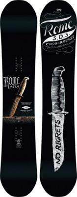 Rome Crossrocket Snowboard 156 - Men's