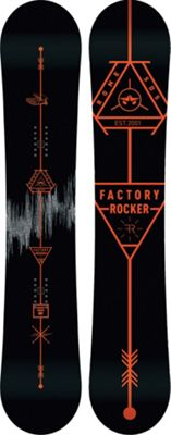 Rome Factory Rocker Snowboard 158 - Men's