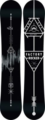 Rome Factory Rocker Snowboard 161 - Men's