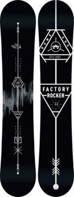 Rome Factory Rocker Snowboard 161 - Men's
