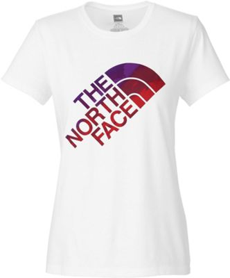 The North Face Women's S/S Blurred Lines Graphics Tee